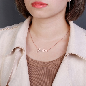 Cheap Necklace with Name